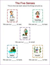 Activities for the Five Senses for Preschool | Learning Printable