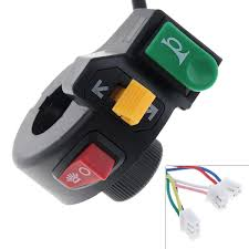 3 in 1 <b>Motorcycle Switch</b> Electric <b>Bike Scooter</b> ATV Quad Light <b>Turn</b> ...