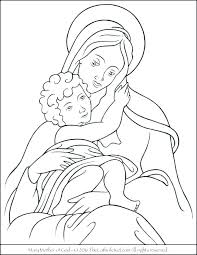 Mother Coloring Pages Mother Coloring Pages Of And Son Daughter