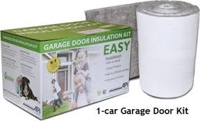 garage door kit1car Residential Garage Door Insulation  R9 Fiberglass  Anco