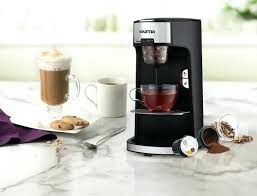 Nescafe Vending Machine Price In India Beauteous Gourmia Single Serve Coffee Tea Maker With Getting To Know Available