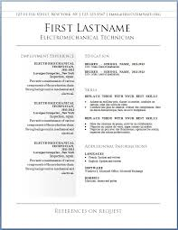 Resume Letters Free Resume Builders For A Perfect Resume