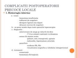 Colecistectomie laparoscopica complicatii