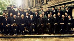Solvay Conference (1927 - Colorized - 1920x1080) : wallpapers