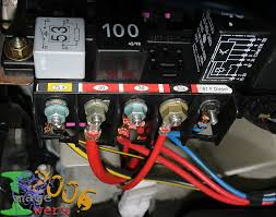 mk golf fuse taps also accessory wire fuse audio electrics also the same coloured wires at the back of the fusebox will carry the same function