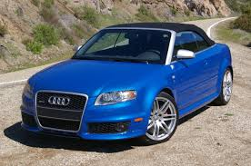 Audi RS4 Cabriolet technical details, history, photos on Better ...