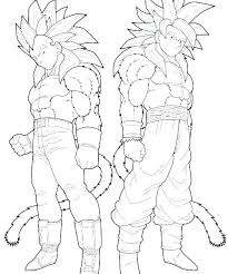 Dragon Ball Z Printable Coloring Pages Super Coloring Pages Super