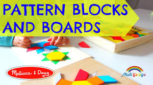 pattern blocks and boards melissa doug 10029 educational toys wooden toys montessori toys you