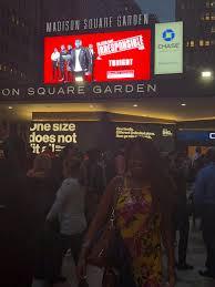 jennifer d laws at madison square garden for kevin hart s irresponsible tour on september 27