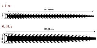 Sandworm Size Chart Isome Marukyu