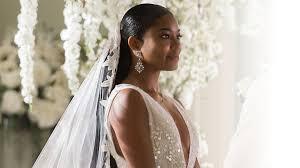 Gabrielle Union Wedding Dress Designer Exclusive Get The Details On The Fairy Tale Wedding Dress