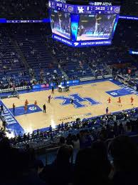 Uk Basketball Stadium Seating Chart Rupp Arena Section 234 Home Of Kentucky Wildcats