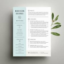 Modern Resume Design Interesting Plantilla De Curriculum Vitae Moderno Y Carta Por SuitedBrandLab