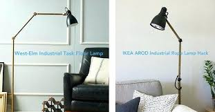 west elm inspired lamp ikea floor lights 3 bulbs