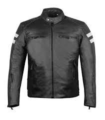 axe motorbike leather street armor safety jacket