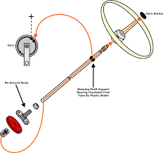 vw horn, 12 volt vw parts jbugs com Car Horn Relay Wiring Diagram Single Horn Relay Wiring Diagram