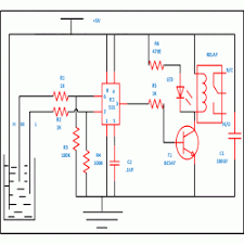 automatic water level controller engineersgarage automatic water level controller circuit diagram