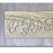 bubble metal wall art