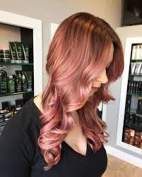 34 Best Rose Gold Blushy Hair