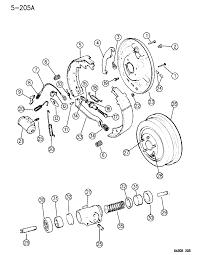 1996 dodge dakota brakes rear diagram 00000eev