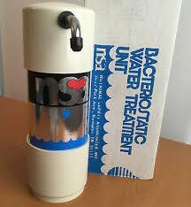 nsa 50c countertop water filter kit bacteriostatic water treatment unit nib