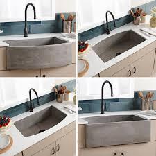 Farmhouse Quartet Concrete Sink
