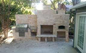 fireplace and grill outdoor wood fired brick oven outdoor fireplace and grill by fireplace and