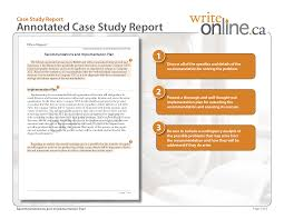 sample company analysis co write online case study report writing guide parts of a case study