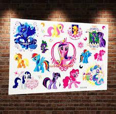 Dočasné Tetování Pro Děti My Little Pony Poštovné Zdarma