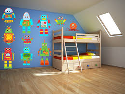 pretentious idea pirate wall decor elegant design robot art decal boys room zoom stickers ship themed