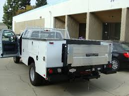 Truck: Tommy Gate Aluminum Platform Liftgate For Service Bodies