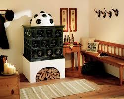 Traditioneller Kachelofen Waerme Designat