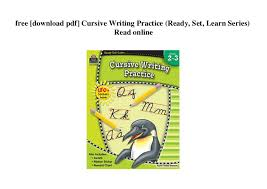 Online Cursive Chart Free Download Pdf Cursive Writing Practice Ready Set
