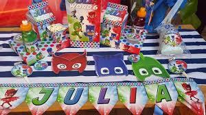 Pj Mask Party Decoration Ideas PJ Masks Party Supplies Decor Gauteng Mpumalanga Cape Town 46
