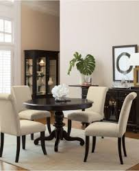 ethan home mackenzie 7 piece country antique white dining set. bradford dining room furniture, 7 piece set (round table ethan home mackenzie country antique white h