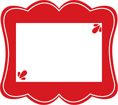 Red Photo Frames Red Frames Clip Art Library