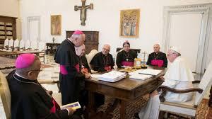 episcopado con el papa