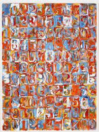 art in the big green room 2nd grade jasper johns numbers
