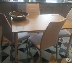 Table De Cuisine 4 Chaises Malmedy 4960 Meubles Pas Cher D