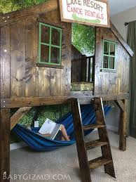 building bedroom furniture. diy furniture project plan learn how to build a clubhouse fort bed for the kids building bedroom