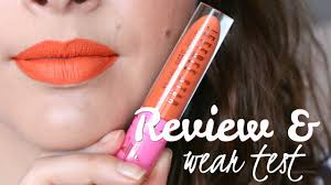 jeffree star velour liquid lipstick in flamethrower review wear test you