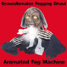 halloween lighting effects machine. special effects creepy sonic groundbreaker fogging ghoul animated fog machine accessory halloween props 2ft lighting