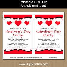 Valentines Day Invitations Best Valentine Invitations Valentines Day Invitation Template Etsy
