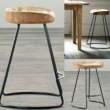 antique wooden bar stools designs innovative vintage metal industrial backless stool wood light oak