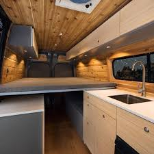 Van Conversion Interior Design Best Sprinter Van Conversion Interior Design 22
