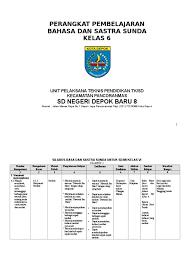 Basa ngoko lugu iku ora panteng diucapake …. Perangkat Pembelajaran Basa Sunda Basa Sunda Sd Mi Kelas 6 Pdf