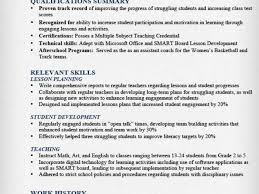 Long Term Substitute Teacher Resume Unique Teacher Resume Samples Writing Guide Resume Genius Teacher Resume