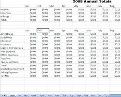 Yearly Expense Report Template Excel Expense Report Template Mwb Online Co