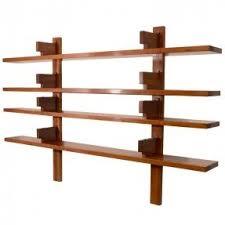 Wooden wall mounted shelves 1