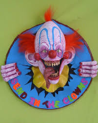 clown decoration decorations props for scary clown decorations